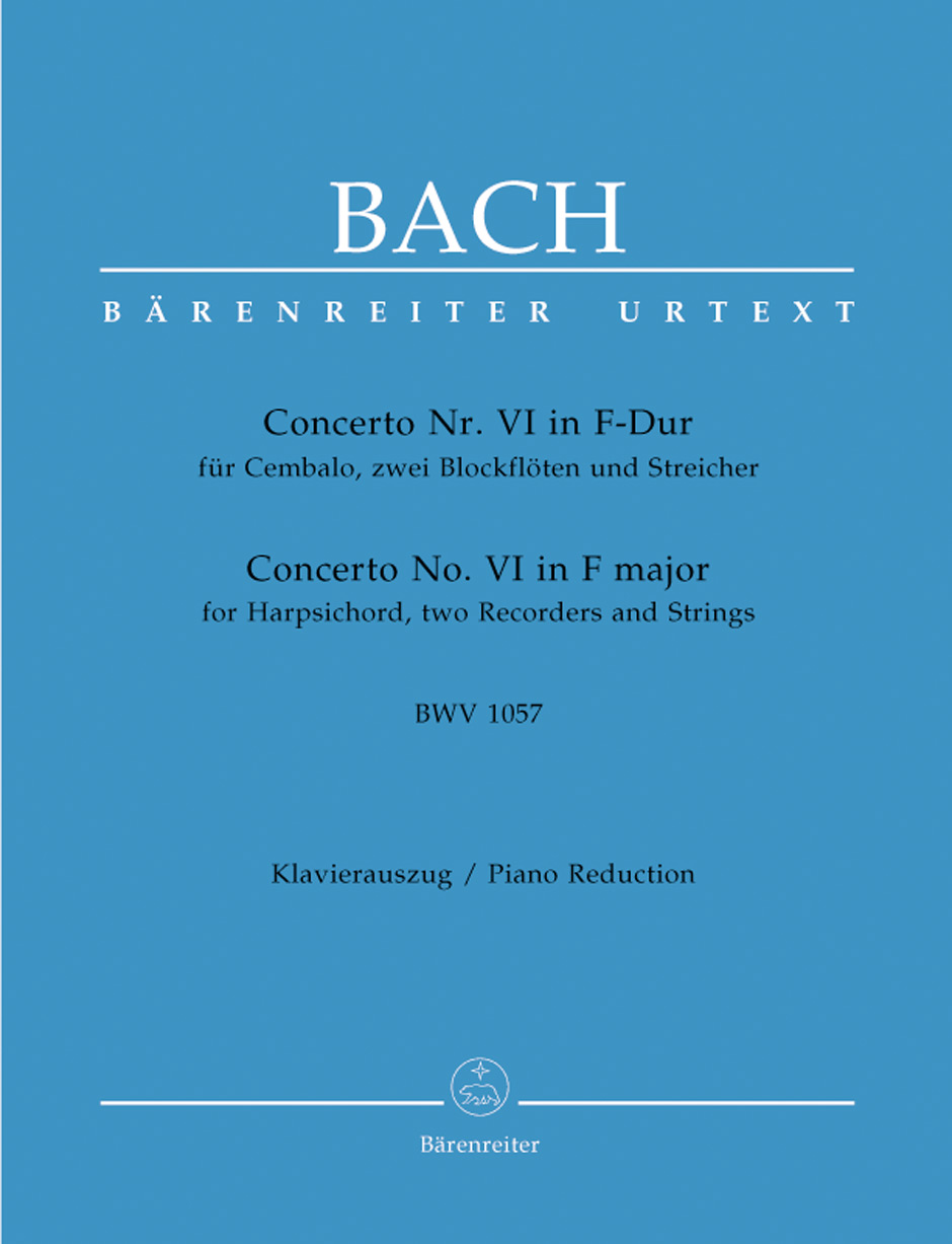 Concerto No. 6 in F Major, BWV1057