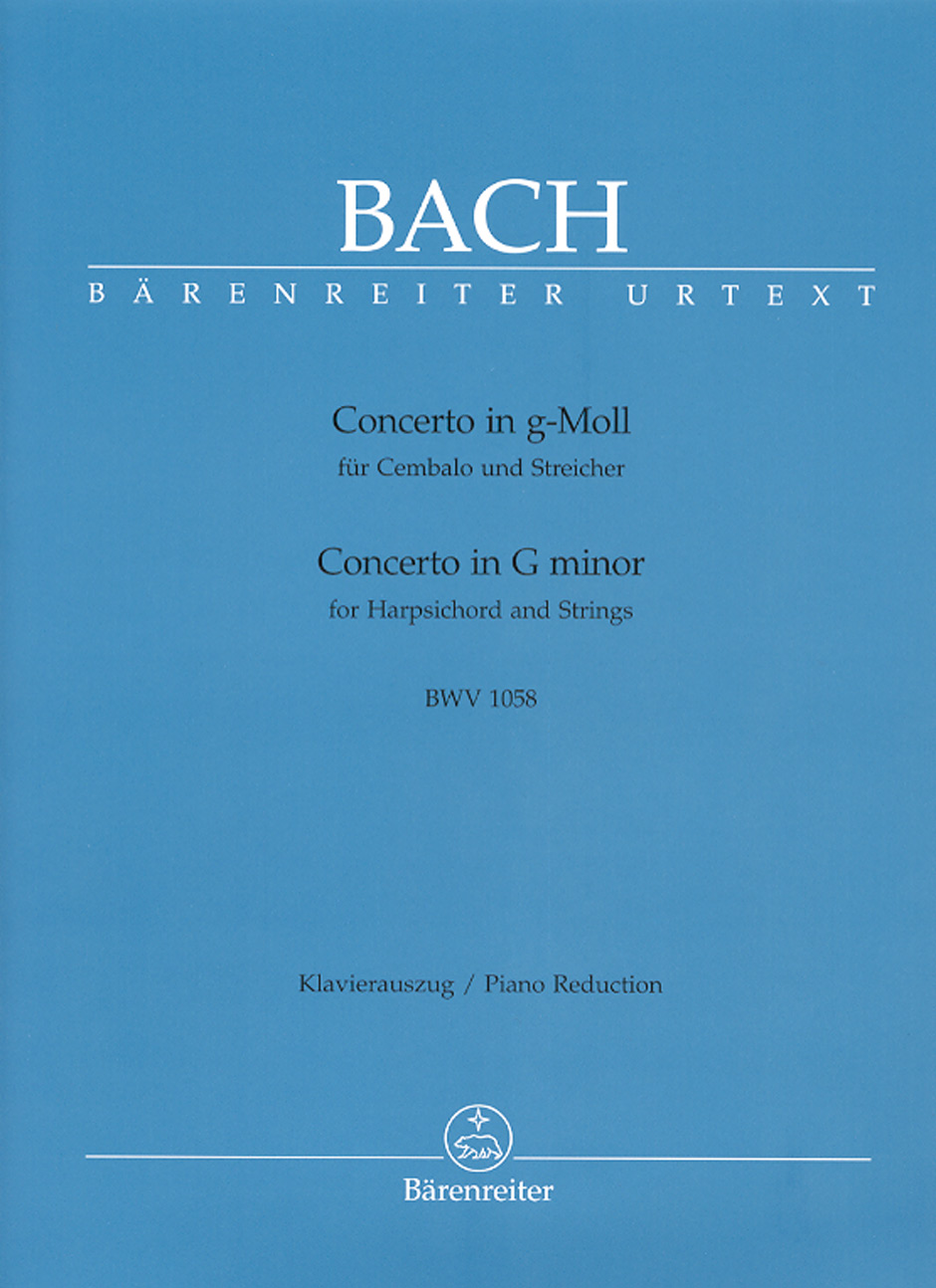 Concerto in G Minor, BWV1058