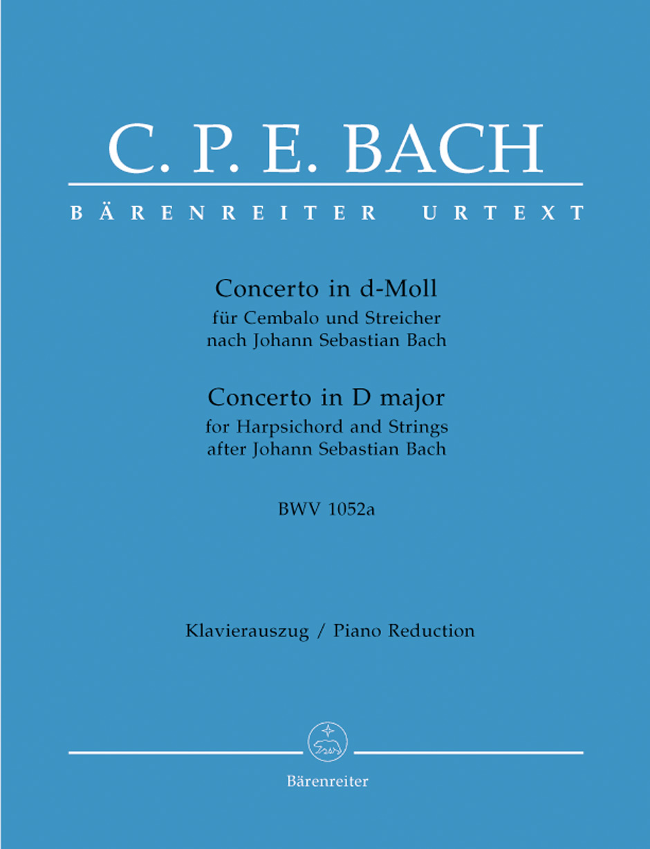 Concerto in D Minor after Johann Sebastian Bach, BWV1052a