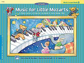 Alfred's Music for Little Mozarts Thumbnail