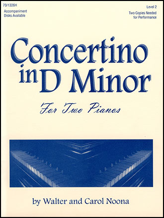 Concertino in D Minor-2 Pianos