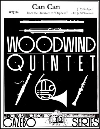 Can Can-Woodwind Quintet