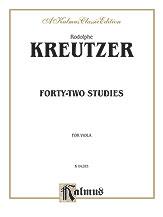 42 Studies for the Viola
