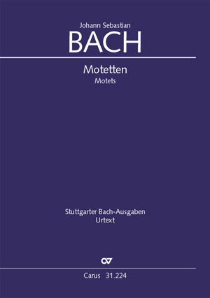 The Complete Motets, BWV 225-230, Anh 159-60