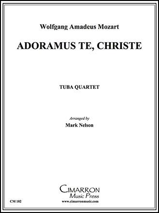 Adoramus Te Christe-Tuba Quartet