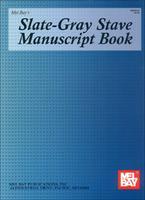 Slate Gray Stave Manuscript Book