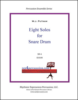 Eight Solos for Snare Drum