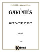 24 Etudes-Violin