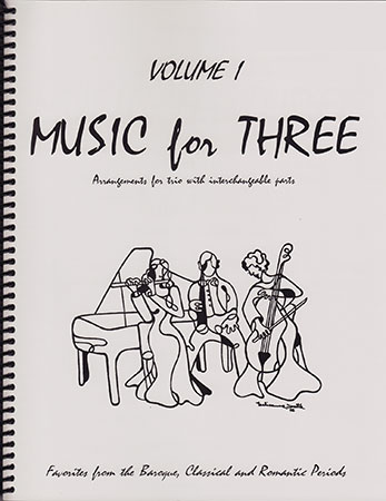 Music for Three No. 1-Part 1-Violin/Flute/Ob