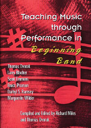 Teaching Music Through Performance in Beginning Band, Vol. 1