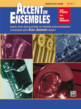 Accent on Ensembles, Book 1 Cover