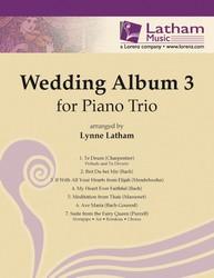 Wedding Album No. 3-Piano Trio