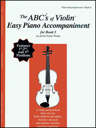 ABC's of Violin No. 5 Piano Accomp