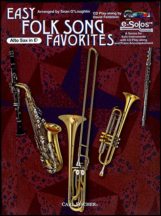Easy Folk Song Favorit-A Sax Book and CD