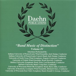 Band Music of Distinction