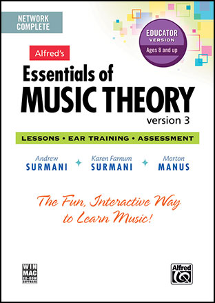 Essentials of Music Theory: Software Cover