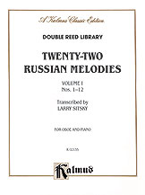 22 Russian Melodies No. 1-Oboe