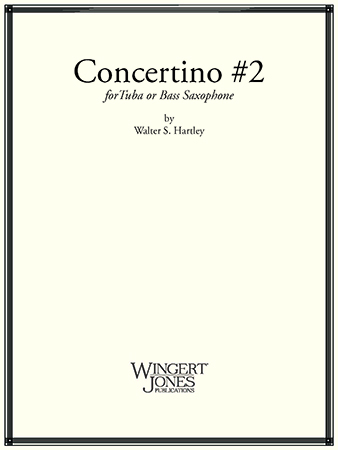 Concertino No. 2 for Tuba and Piano