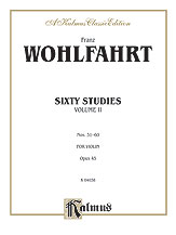 60 Studies Op. 45 No. 2-Violin