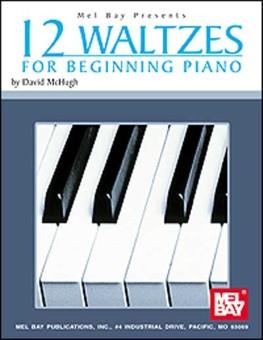 12 Waltzes for Beginning Piano