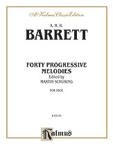 40 Progressive Melodies for Oboe