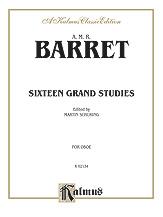 16 Grand Studies for Oboe