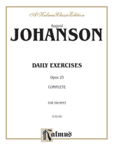 Daily Exercises Opus 25-Trumpet