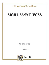 Eight Easy Pieces-Three Violins