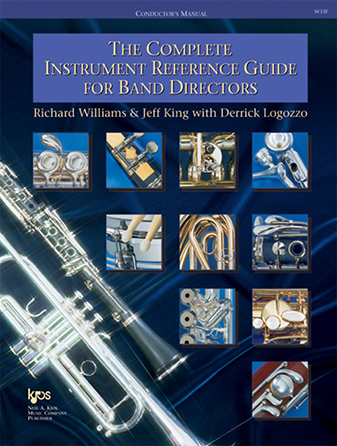 Books for band directors sheet music at jw pepper the complete instrument reference guide for band directors the complete instrument reference guide for band directors richard williams jeff king neil a malvernweather Images