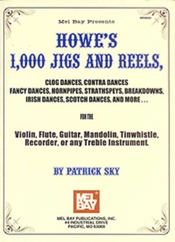 1000 Jigs and Reels-Treble Instr