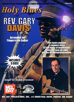 Holy Blues of Rev Gary Davis-Tab/CD