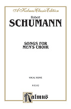 Songs for Mens Choir-Vocal Score