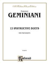 12 Instrumental Duets-Violin