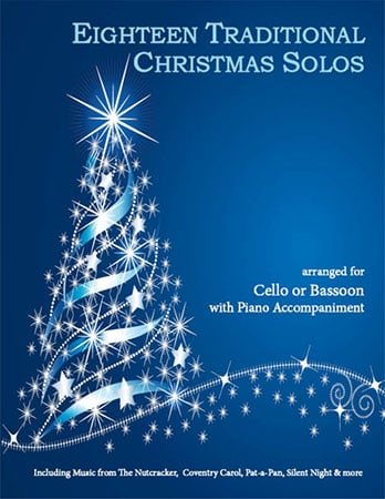 18 Traditional Christmas-Cello/Bassoon