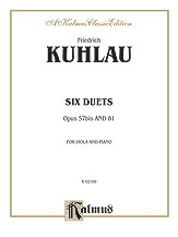 6 Duets for Two Flutes Op. 57/81