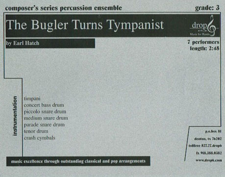 The Bugler Turns Tympanist
