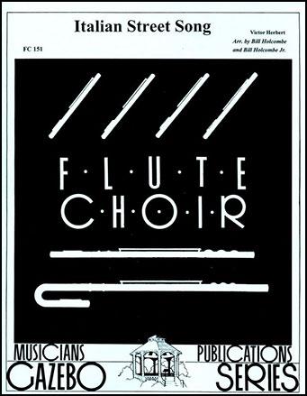 Italian Street Song-Flute Choir