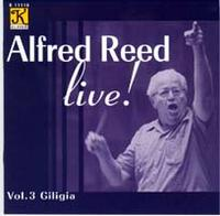 Alfred Reed Live, Volume 3
