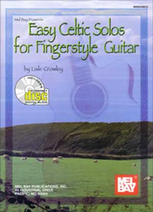Easy Celtic Solos for Fingerstyle Guitar  Bk/CD