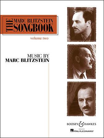 Marc Blitzstein Songbook No. 2