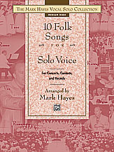 Ten Folk Songs for Solo Voice