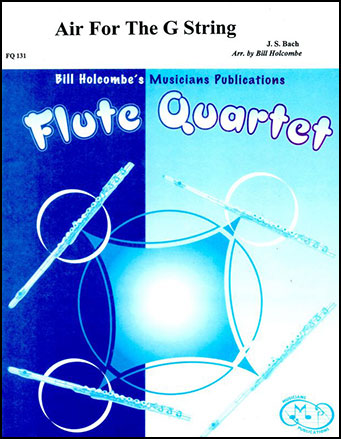 Air for the G String-Flute Quartet