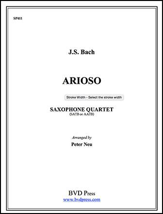 Arioso-Saxquartet