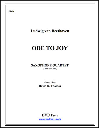Ode to Joy Cover