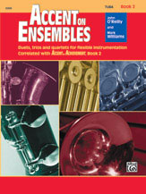 Accent on Ensembles Book 2 Cover
