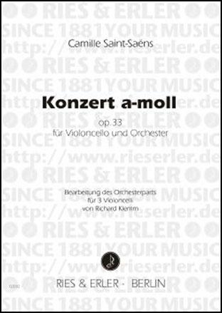 Konzert in A Minor Op. 33-4 Cellos
