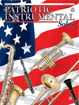 Patriotic Instrumental Solos brass sheet music cover