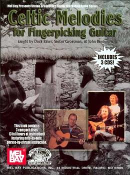 Celtic Melodies for Fingerpiekcing Guitar Bk/3-CD set