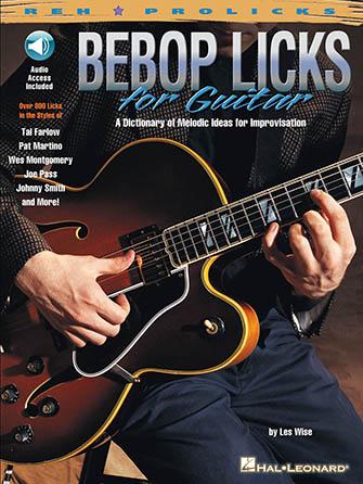 Bebop Licks for Guitar-Tab with CD