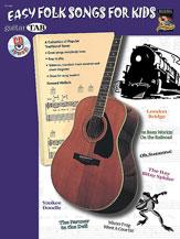 Easy Folk Songs for Kids-Tab W/CD